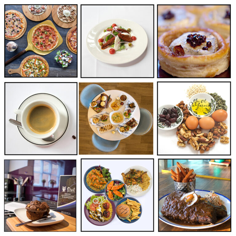 food montage- Sandra Sergeant - Photographer Basingstoke